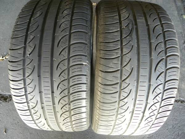 Pirelli Pzero 2553518 tires matching pair - $90 (Houston NW)