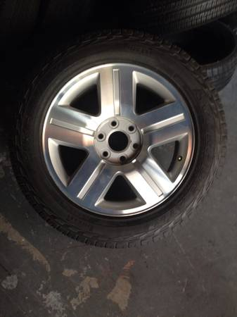 2010 Chevy Texas Edition Wheels 2 Wheels Only - $260 (Sugar Land First Colony)