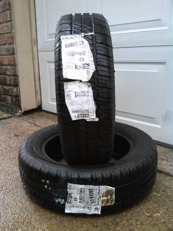 2 BRAND NEW Goodyear Eagle LS 185 60 15 Tires - $150 (HWY 6 I-10)