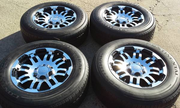 17 Aluminum wheels and tires for 6 lug Ford f150 and Expedition - x0024500 (Houston)