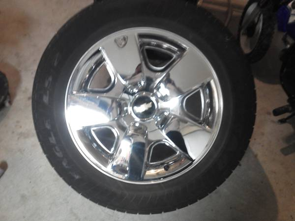 2000-2013 Chevy Chevrolet Texas edition 20 rims wheels - $1000 (Deerpark)