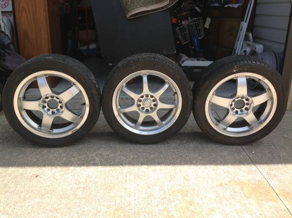 Yokohama YK520 23545R17 Tires and Rims - $150 (2415 South Dairy Ashford)