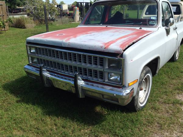 1982 ( SWB ) Chevy  GMC -- COMPLETE C10 TRUCK -- For ( PARTS )  - x00241 (Nw )