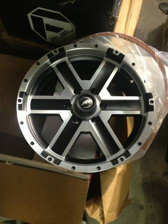 ATX 185 CRAWL WHEELS 20x9 - $280 (cypress)