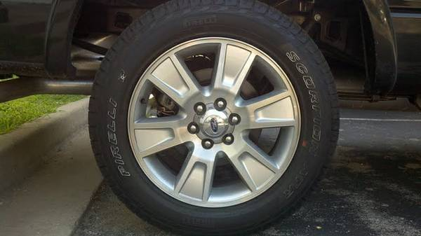 2012 20 OEM Ford F150 RimsTires - $900 (Houston, Tx.)