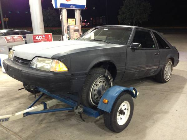 1990 Mustang complete roller for sale ( GOOD PARTS ) - $650 (Nw)