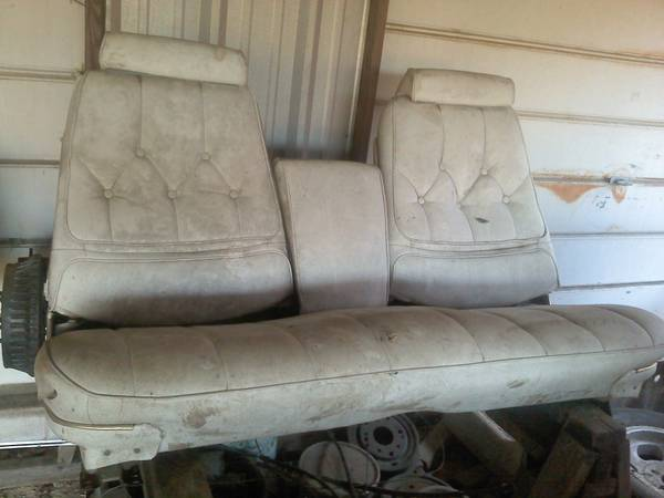 1969 GTO Bucket-Bench Seat - $100 (Crosby, Texas)