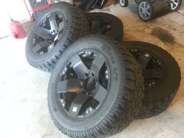 20 inch rims and tires - $1850 (North Houston)
