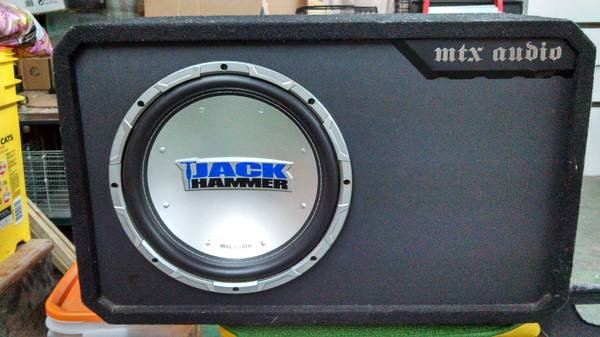 12 MTX Jackhammer in Custom Box with - $150 (New Caney)
