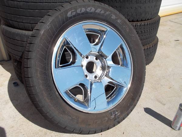 Chevy Silverado Texas Edition Wheels - $750 (HoustonTomball)