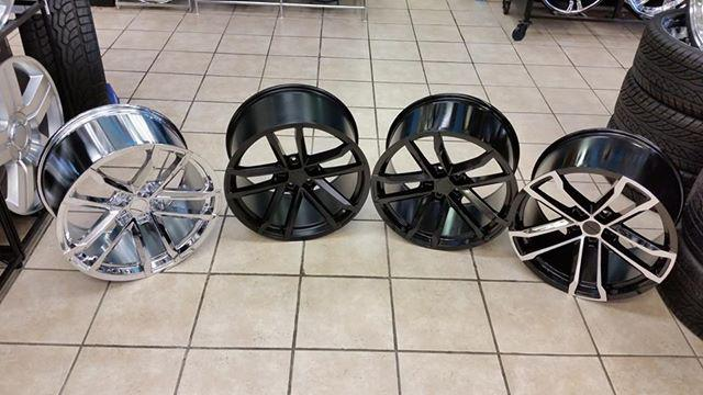 20 Camaro Zl1 wheels with tires for $1800.00. We also finance