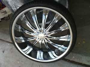 28 Inch Rims w Tires - $2300 (houston)