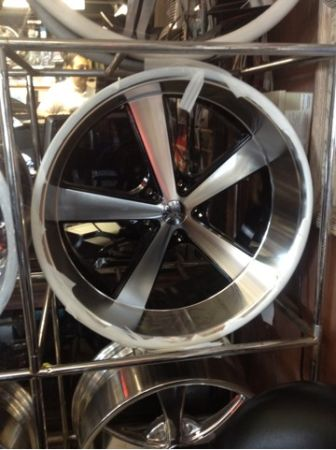 22 INCH STAGGERED AR NOVA RIMS ,22x9  22x11, 5 lug chevy - $1299 (Houston)