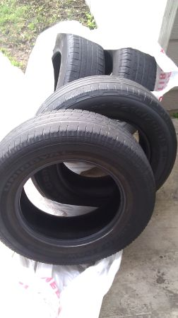 (4) 2157016 Four tires - $20 (Dickinson)