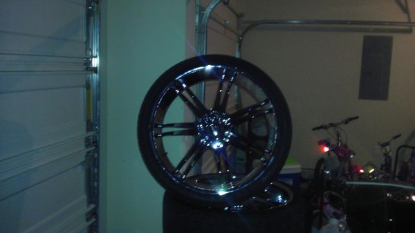 26 inch rims five lug - $1100 (HoustonFresno)