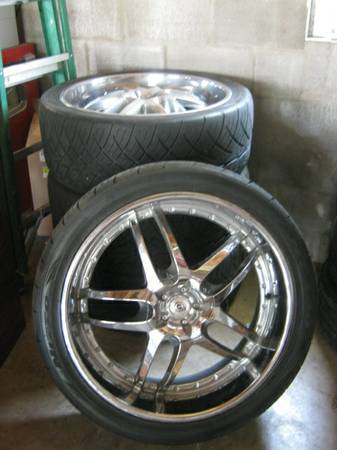 24 DROPSTARS - Rims  Nitto Tires - EXCELLENT - MUST SELL     - $28 (HoustonHeights)