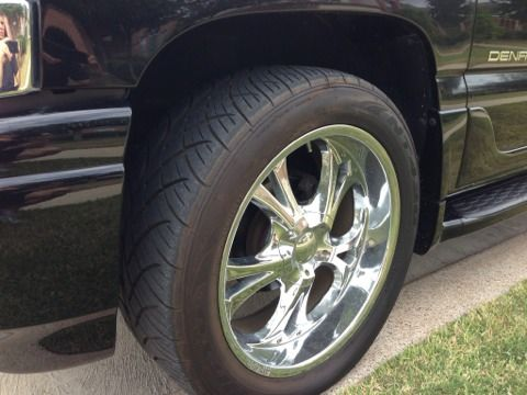 22quot chrome structure s40 wheels with nitto tires, great deal - $1000 (League city)
