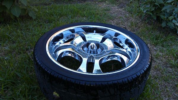 24 6 lug chrome wheels for chevy toyota nissan - $650 (northeast houston)