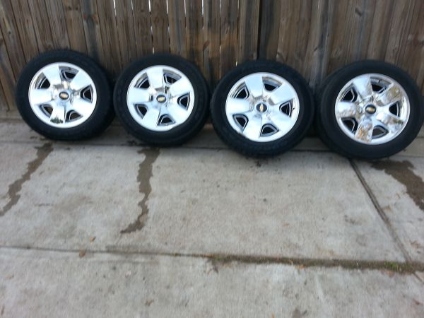 20 inch Silverado Texas Edition stock wheels - $700 (Houston)