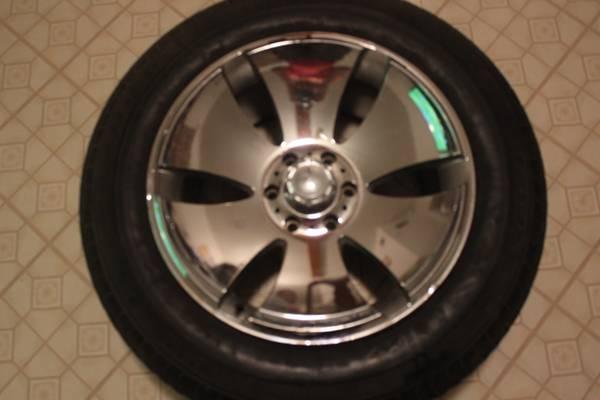 Tires and Rims 20 obo - $450 (Galena park)