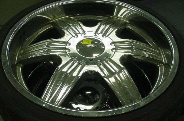 22 inch Rims 5-lug universal - $600 (North Houston)