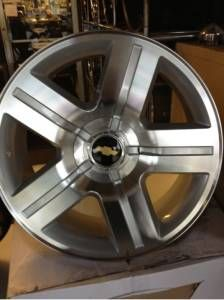 22 CHEVY TEXAS EDITION RIMS 5 LUG - $1299 (HOUSTON)