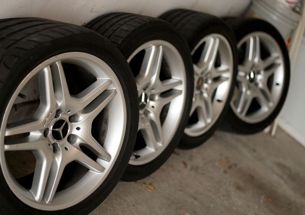 18 MERCEDES AMG WHEELS  RIMS AND TIRES - $400 (SW HOUSTON)