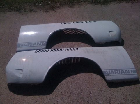 VW Volkswagen Type 3 square back Rear Fenders Left and Right - $100 (West Houston  Katy)