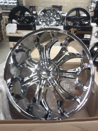 26 inch godfather rims - $2000 (waco)