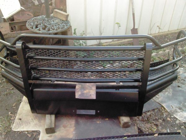 Ranch hand front and back bumpers - $750 (Pearland)
