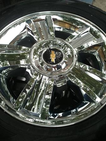 20 CHEVY WHEELS FOR TEXAS EDITION 2013 - $1275 (hou)