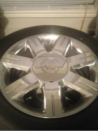 2008 CADILLAC DTS OEM WHEELS N TIRES - $800 (Houston)
