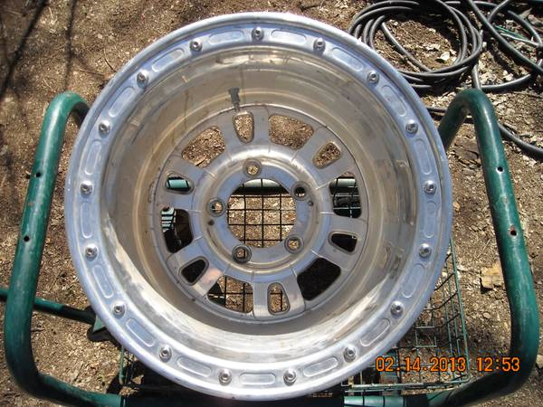 4 WELD WHEEL INDUSTRIES RIMS 15X14 5 ON 5.5 NO DAMAGE EXCELLENT COND. - $600