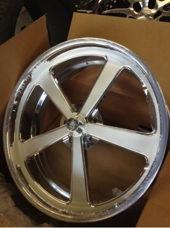 24 INTRO RALLY WHEELS,24x9  24x12,5 on 5 - $4199 (Houston)