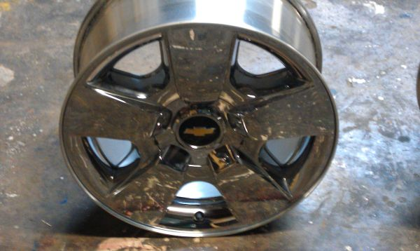 Chrome Chevy 20 Texas Edition Wheel - $300 (Houston)