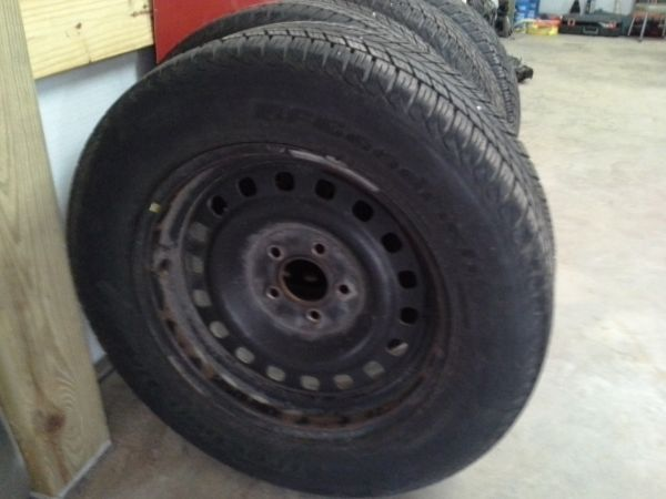 crown vic wheels and tires - $300 (tomball)