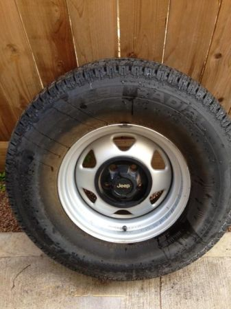 Spare Jeep Tire 31X10.5X15 - $25 (Houston (near Memorial Park))