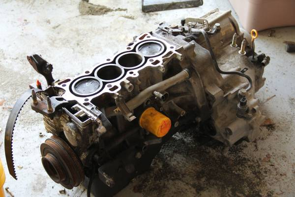 D16Y7 motor and Transmission (Clear Lake TX)
