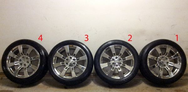 22 OEM GM Cadillac Escalade Wheels w New Nitto Tires CK375 6 Lug - $1900 (Fort Worth)