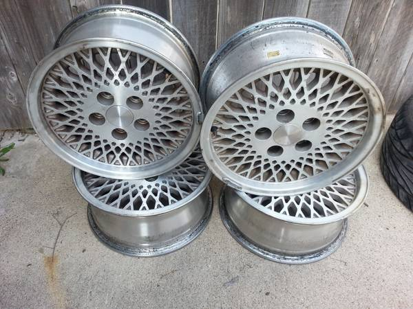 Jeep Cherokee XJ Rims - $60 (Richmond)
