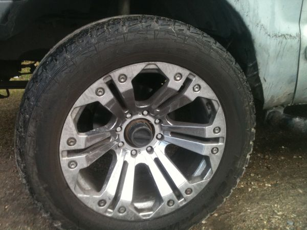 ford f250 22in rims tires - $950 (downtown area)