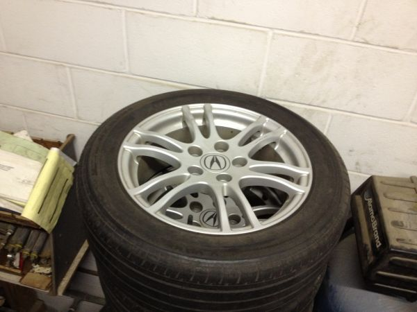 05 RSX 16 Wheels Rims with Tires - $325 (Houston)
