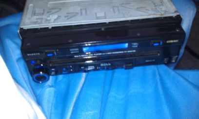BOSS 7 Single Din DVD Flip Out Radio Bluetooth Navigation AUX SD - $130 (Spring  Houston)