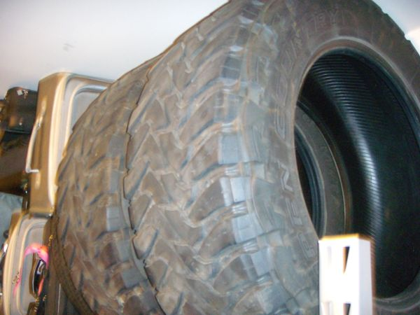 2 Toyo Open Country MT Tires - $150 (Montgomery, TX)
