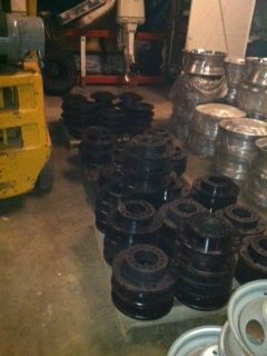 Wheel adapters-set of 4 - $250 (pearland)