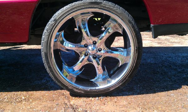 Rims and tires - $350 (N Houston)