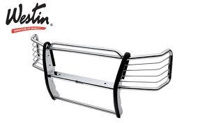 2003-2007 Silverado 25003500 Grille Guard - Westin Polished Stainless - $400 (Pearland (288 at Bass Pro Shops))