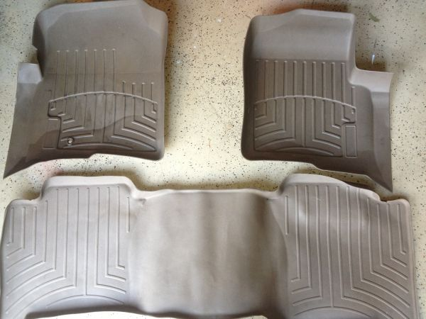 WeatherTech Floor Mats- Ford F150 Crew Cab - $50 (Katy Tx)