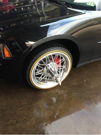 20 inch g8 on vogue tires - $3500 (8320 west bellfort st Houston Texas 77071)