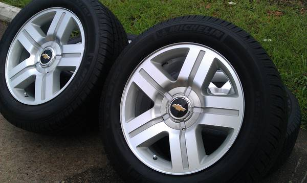 20 Chevy Texas Edition Wheels And MICHELIN Tires (Houston)